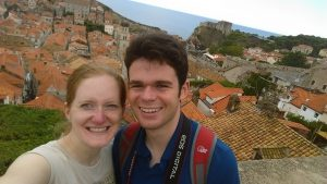 Day #9 as Mr. & Mrs. Whiting. Rain!! How horrible! Well, Jared said; we are going to see Dubrovnik as we are here, and off we went. It was not just rain, it was elephant drops of rain! We almost ran to the old town, bought two umbrellas and found a place to eat lunch. Luckily the weather got better and we then walked along the old walls. Great views and not too many tourists as it had been raining quite a bit. In the end of the walk suddenly a stream of people appeared together with the sun. We headed off, but of course not without an ice cream, and I got myself some nice sunglasses. Montenegro here we come! And ohh how amazing Montenegro is!! We drove over a mountain pass which was absolutely stunning!! We have now checked in for the night in the town Niksic where we stand out a bit... Outside is a selection of nice cars and we feel we should dress up for dinner...